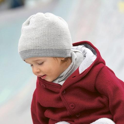 Cappellini in pura lana merino indossati