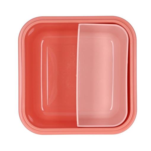 Lunch box fantasia arcobaleno aperto