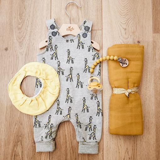 Salopette giraffe 2