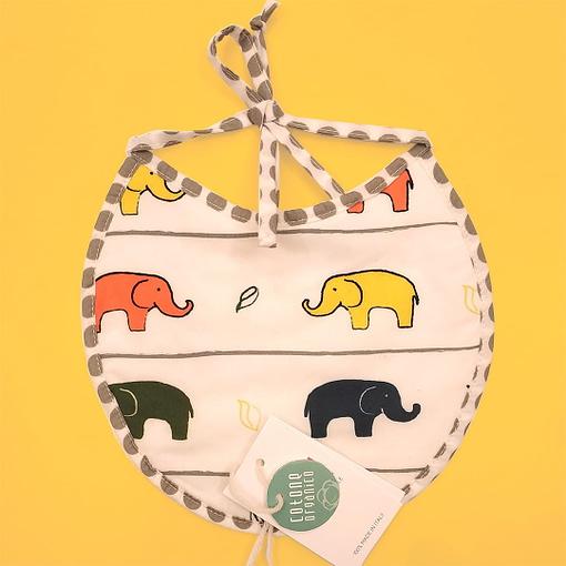 Bavaglino piccolo elefantini