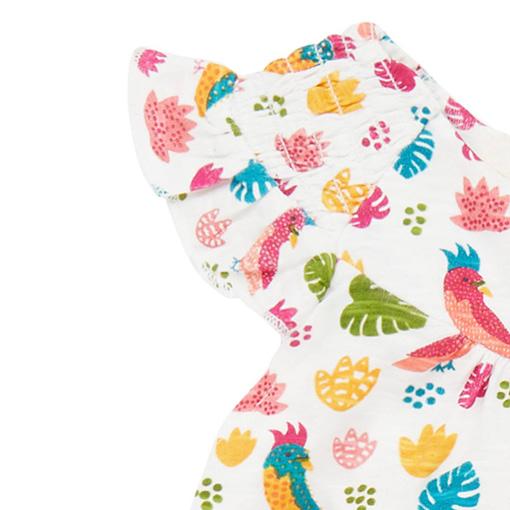 Abitino pappagalli baby dettaglio