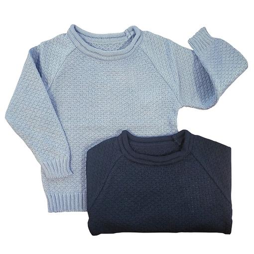 Maglioncini cotone bio lavorati a maglia