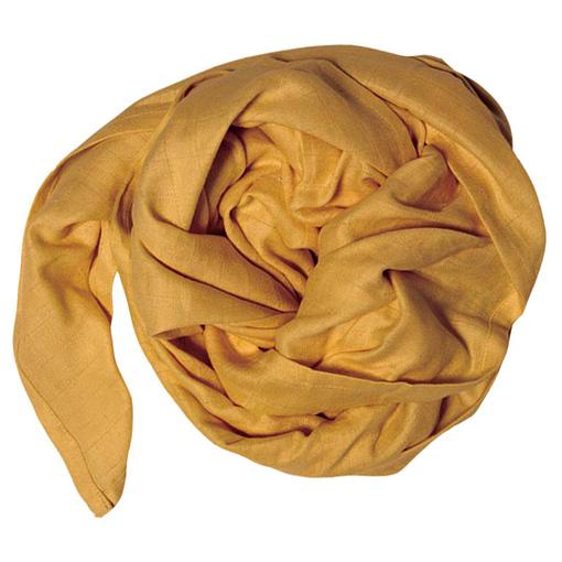 Mussolina foulard ocra