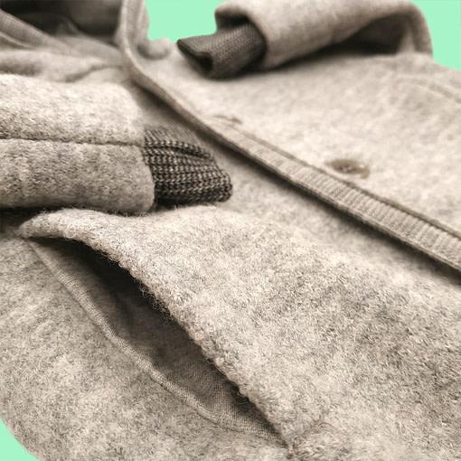 Cappotto lana cotta