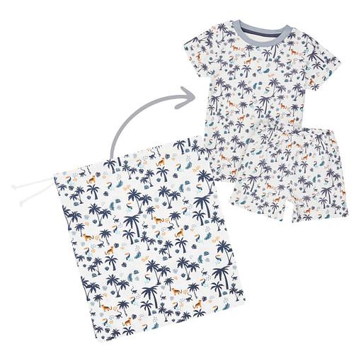 Set pigiamino savana bimbo