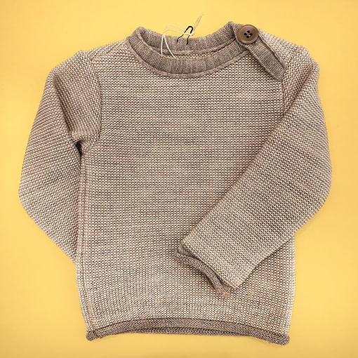 Maglioncini in lana merino grigio