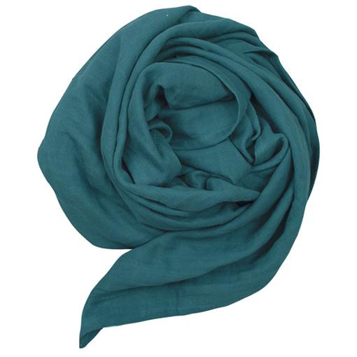 Mussolina foulard blu