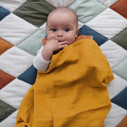 Mussolina foulard bebè