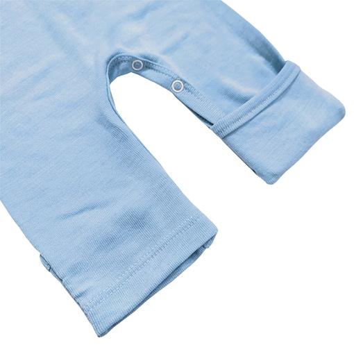 Pigiamino lana e seta piedino