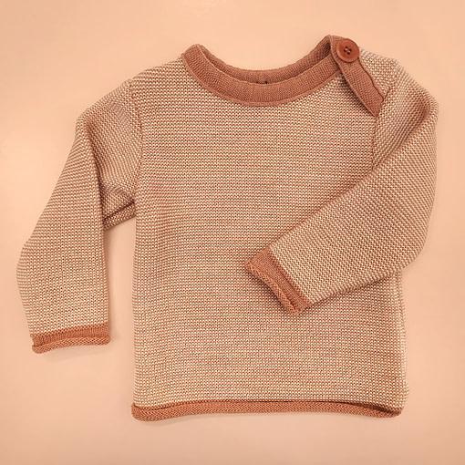Maglioncini in lana merino rosa