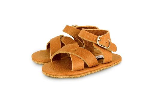 Sandalini Giggles colore cognac