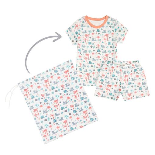 Set pigiamino savana bimba