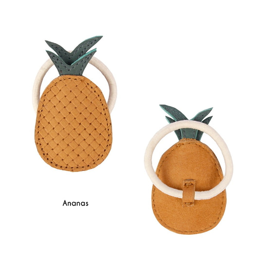 Elastico in pelle ananas
