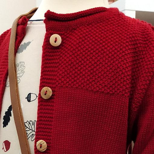 Cardigan di lana merino