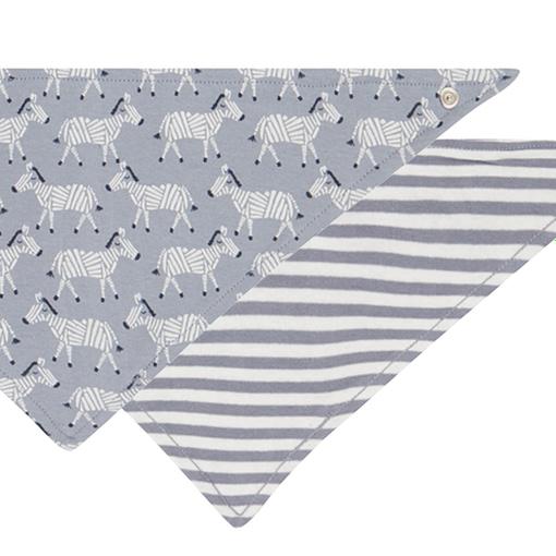 Bavaglino bandana zebre